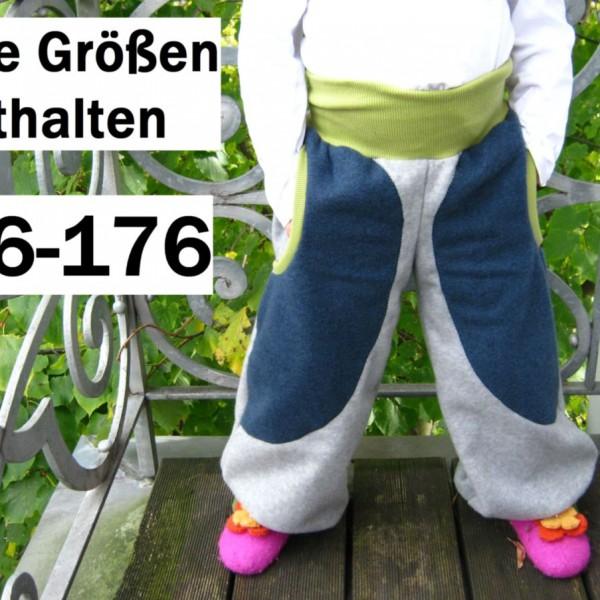 Pluderhose – Schnittmuster & Bildnähanleitung Bonny Gr. 56-176 ...