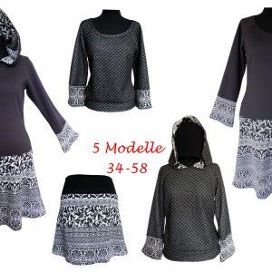 Kapuzenkleid / Shirt /Rock Sophia