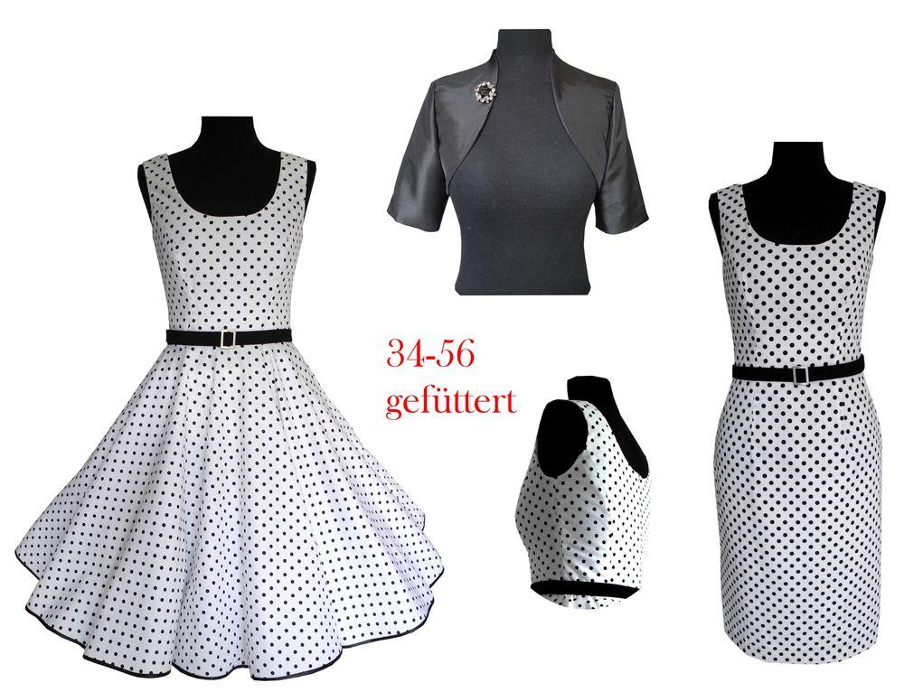 Petticoatkleid, Etuikleid, Bolero-Jacke – Schnittmuster ...